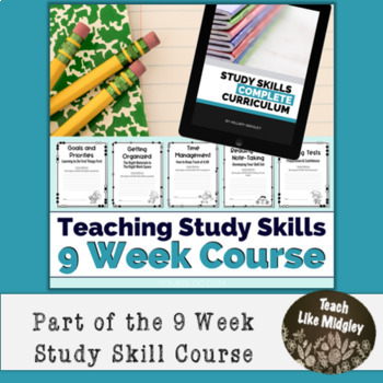Study Skills Course Curriculum - Chapter 1 Setting Goals and Priorities