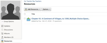 Chapter 1 Text Bank for APUSH in Schoology