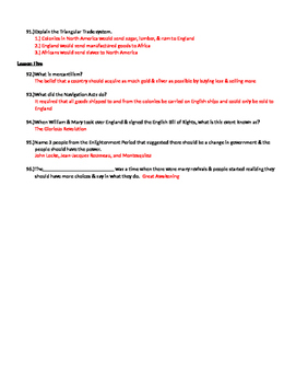 Chapter 1 - The Earliest Americans - US History Study Guide