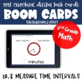 Chapter 10.3 Measure Time Intervals Boom Cards™