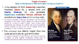 """McGraw Hill US History Chapter 10 Powerpoint """"The Jefferson Era"""""""
