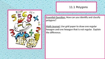 Chapter 11 Go Math Essential Questions and Journal Writing