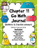 Chapter 11 Go Math Journal Second Grade