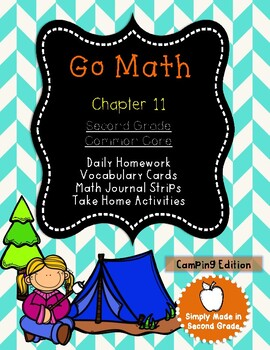 Go Math!  Chapter 11 Second Grade Supplemental Resources-Common Core