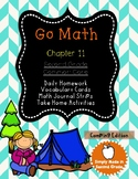 Go Math!  Chapter 11 Second Grade Supplemental Resources-C