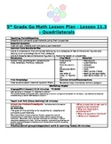 Chapter 11 Lesson 3 Grade 5 Go Math Lesson Plan