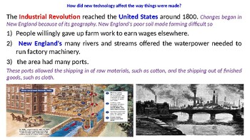 """McGraw Hill US History Chapter 11 Powerpoint """"Growth and Expansion"""""""
