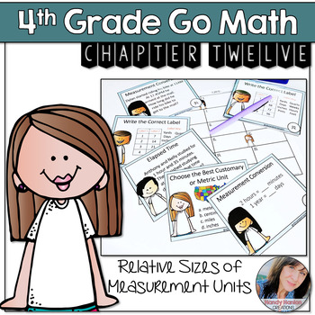Go Math Grade 4 Math Chapter 12 Relative Sizes of Measurement Game