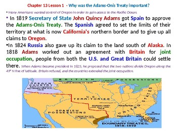 McGraw Hill US History Chapter 13 Powerpoint