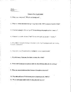 chapter 14 creating america study guide test and answer key tpt rh teacherspayteachers com creating america reading study guide pdf creating america reading study guide pdf