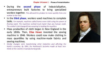 """McGraw Hill US History Chapter 14 Powerpoint """"North and South"""""""