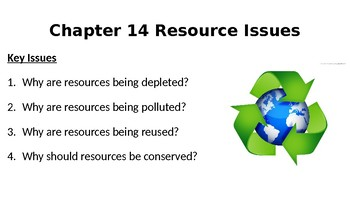AP Human Geography- Resource Issues PPT