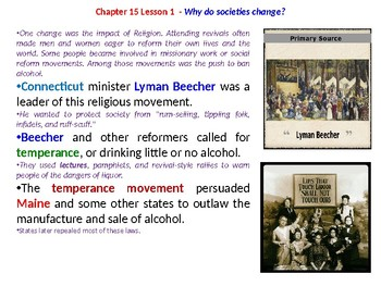 McGraw Hill US History Chapter 15 Powerpoint