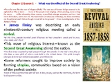 "McGraw Hill US History Chapter 15 Powerpoint ""The Spirit of Reform"""