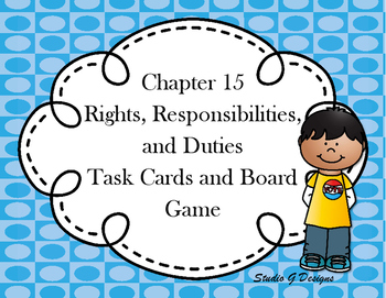 Chapter 15 Task Cards and Board Game