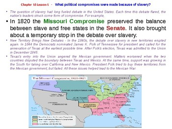 McGraw Hill US History Chapter 16 Powerpoint by Franglais Kimmy | TpT