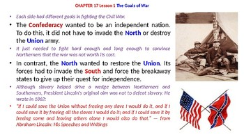 McGraw Hill US History Chapter 17 Powerpoint