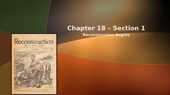 Chapter #18 - Creating America Notes
