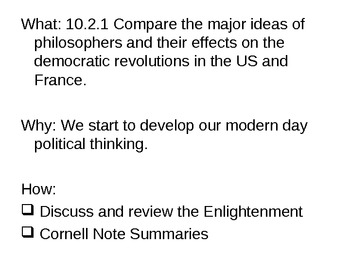 Chapter 19 - The Enlightenment Review - Powerpoint