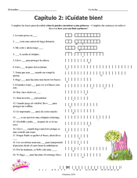 Chapter 2 Double Puzzle (Asi se dice 3)