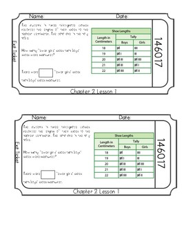 Chapter 2 Exit Slips