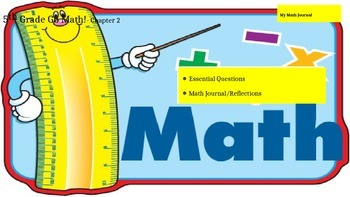 Chapter 2 Go Math Essential Questions and Journal Writing Prompts