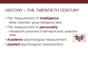 Chapter 2 Historical Considerations- Psychology