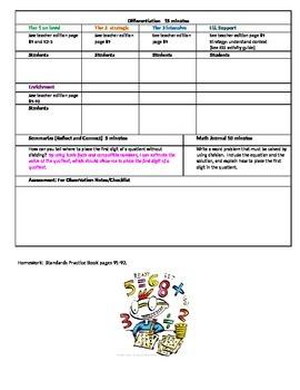 Chapter 2 Lesson 1 Grade 5 Go Math Lesson Plan
