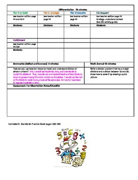 Chapter 2 Lesson 3 Grade 5 Go Math Lesson Plan