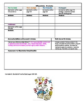 Chapter 2 Lesson 6 Grade 5 Go Math Lesson Plan