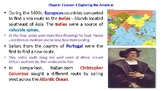 """McGraw Hill US History Chapter 2 Powerpoint """"Exploring the Americas"""""""
