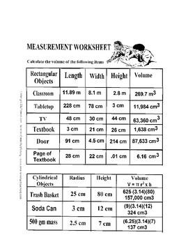 Measurement Lab: Measure the Classroom