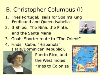 Chapter 2 powerpoint for Prentice Hall America:  History of our Nation