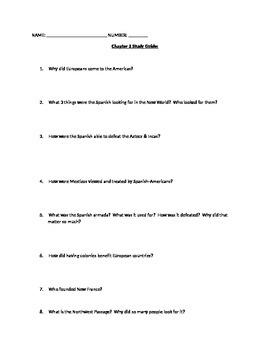 chapter 2 study guide to accompany the textbook creating america rh teacherspayteachers com creating america reading study guide answers creating america chapter 8 study guide