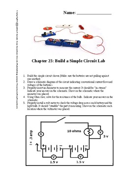 Chapter 23 Build a Simple Circuit Lab