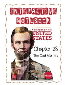 Ch28 (12 ModernTimes) The Cold War Era - DiscoveringOurPast Interactive Notebook