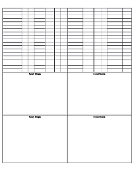 Chapter 3 Go Math  Checklist/ Conference notes
