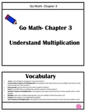 Chapter 3 Go Math Review Packet- 3rd Grade