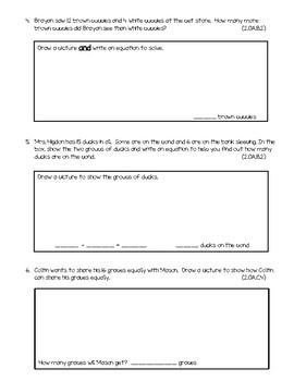 Chapter 3 Go Math Test Grade 2