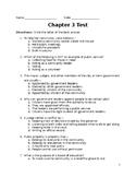 Chapter 3 Harcourt Horizons World Cultures Test Grade 3