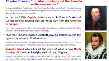 """McGraw Hill US History Chapter 3 Powerpoint """"Colonial America"""""""