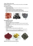 Chapter 3: Metals and Non-metals