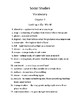 Chapter 3 Pearson My World Texas Ed. Grade 1 Quizzes