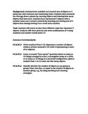 Go Math Kindergarten Chapter 3 Task and Common Core Standards