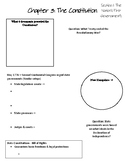 American Govt: Chapter 3: The Constitution PowerPoint Notes