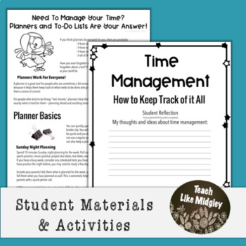 Study Skills Course Curriculum - Chapter 3 Time Management