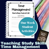 Study Skills Course Curriculum - Time Management