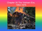 Chapter 30 The Vietnam Era