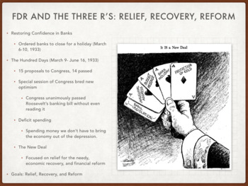 Chapter 33 The Great Depression and the New Deal 1933-1939