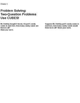 Chapter 4 Go Math 4.9-4.10 Low Group  Booklet